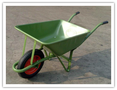 The wheelbarrow of faith