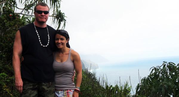 Napali Coast Nell & Steve