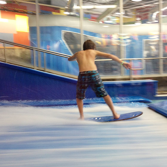 Trey Surfing