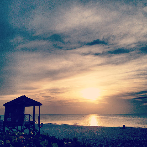 Beach Sunrise Paddle After 560