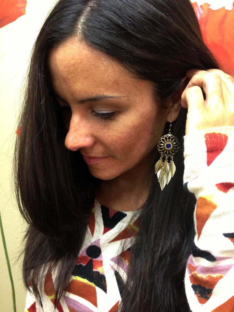 Fashion Showing Earrings