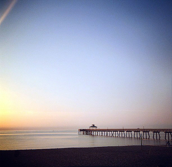 Paddleboard Beach Sunrise