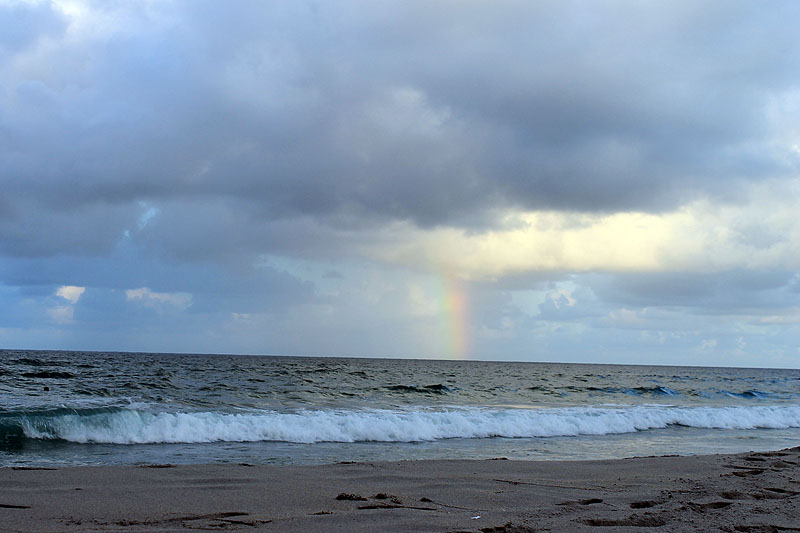 Beach Rainbow 800