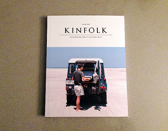 Kinfolk Magazine Volume 9