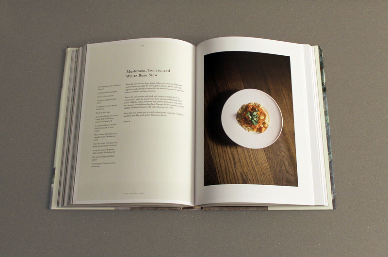 Kinfolk Cookbook Recipe