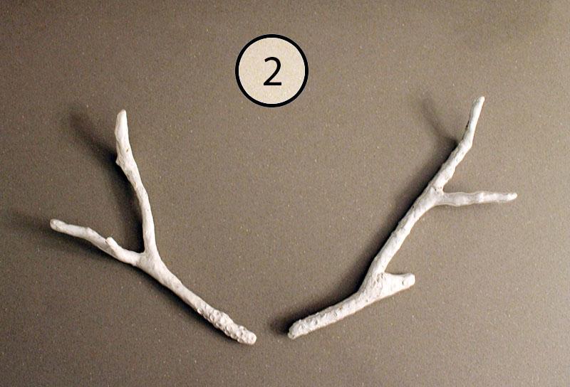 Faux Antlers Step 2