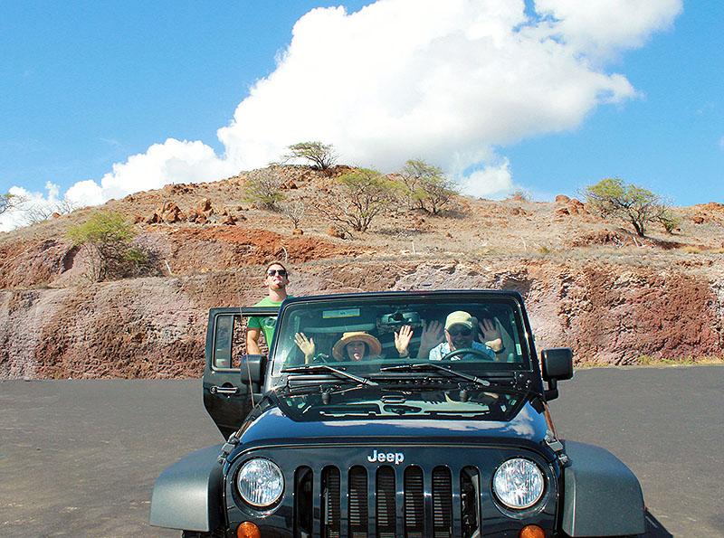 Jeep Crew on Maui