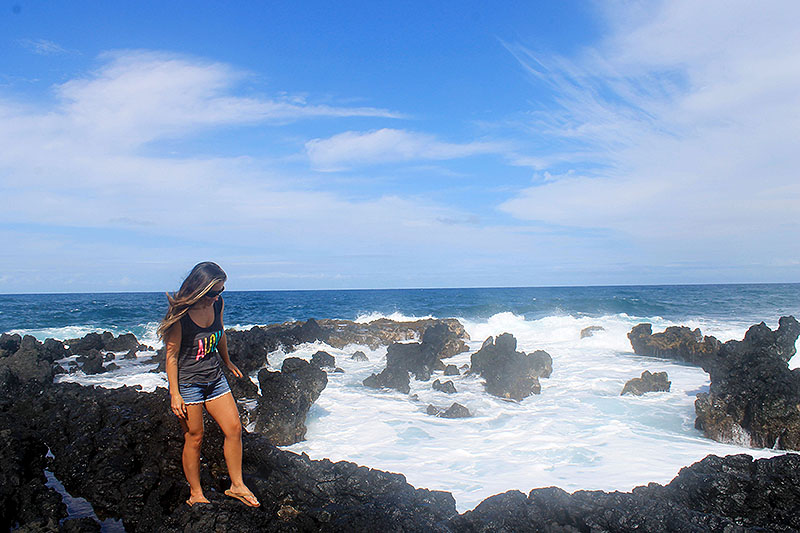 On Big Lava Rock