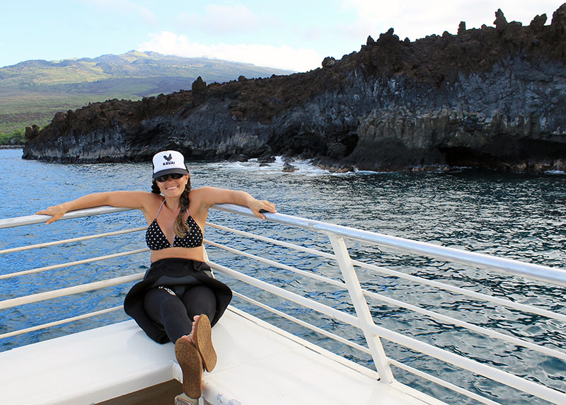 On the Maui Magic Boat Trip