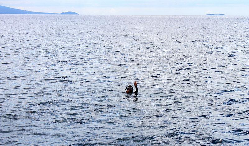 Snorkeling Molekini in Maui