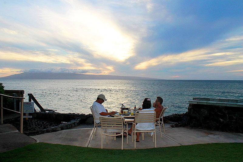 Sunset Dinner in Maui