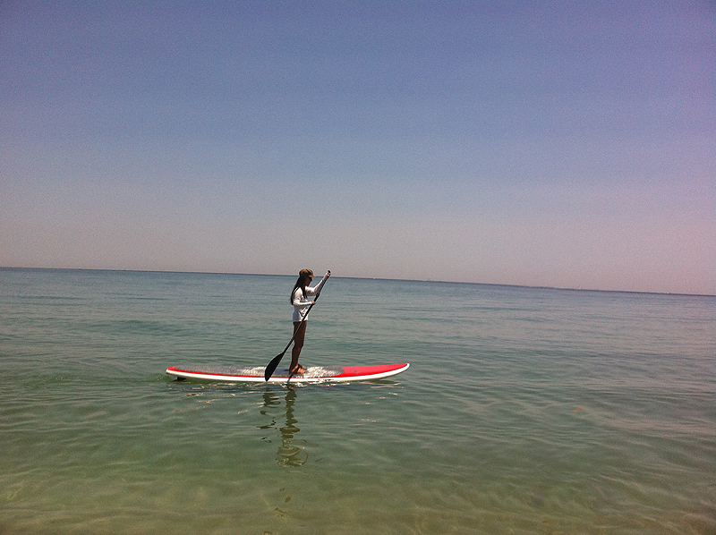 Nell Paddleboarding