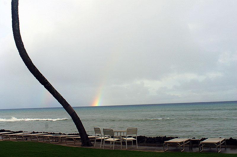 Rainbow at Condo
