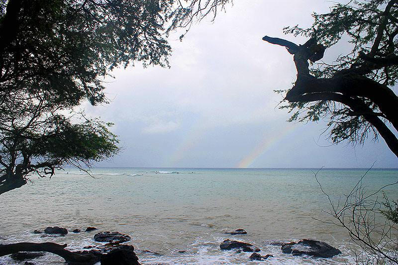 Surfing under the Rainbow
