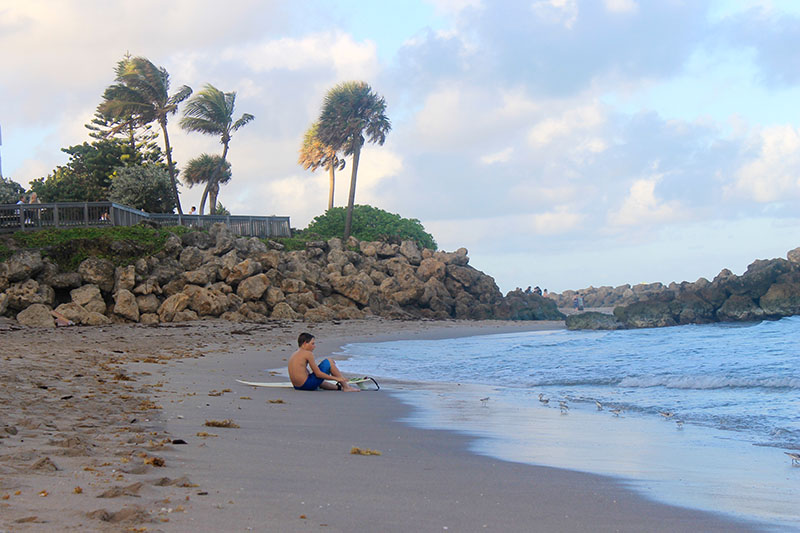 Trey Sitting on the Beach 800