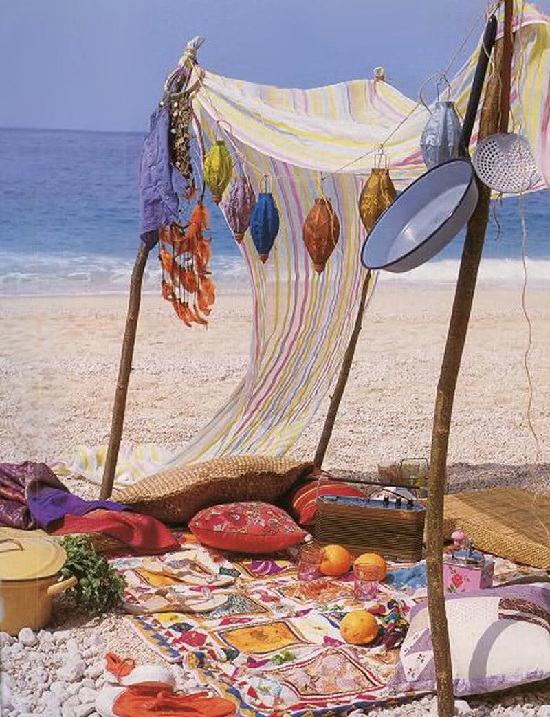 Boho Beach Camp