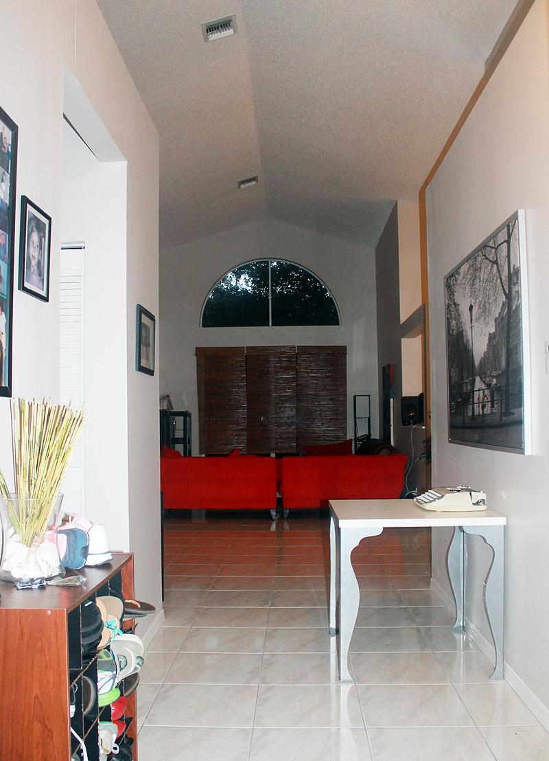 House Front Door View