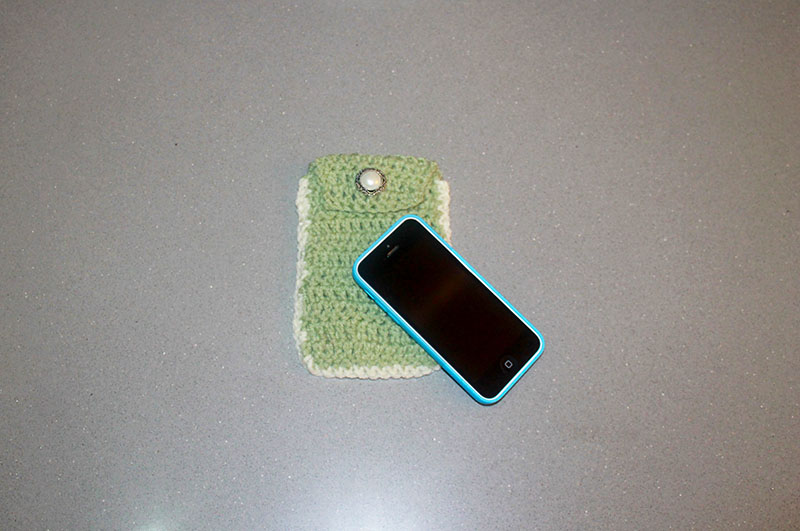 iPhone Crochet Case