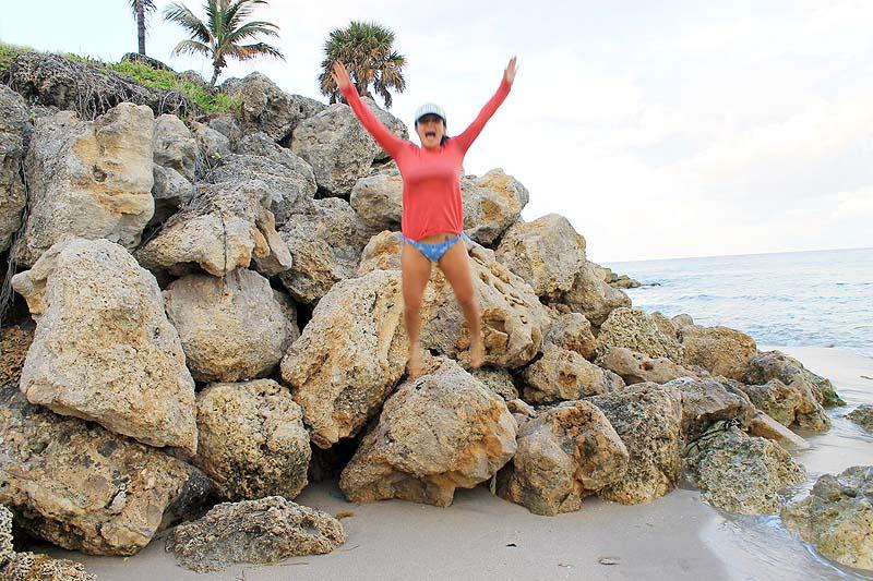 Beach Rock Jump