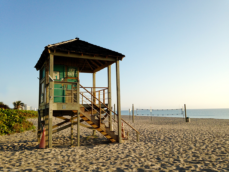 Deerfield Lifeguard Stand