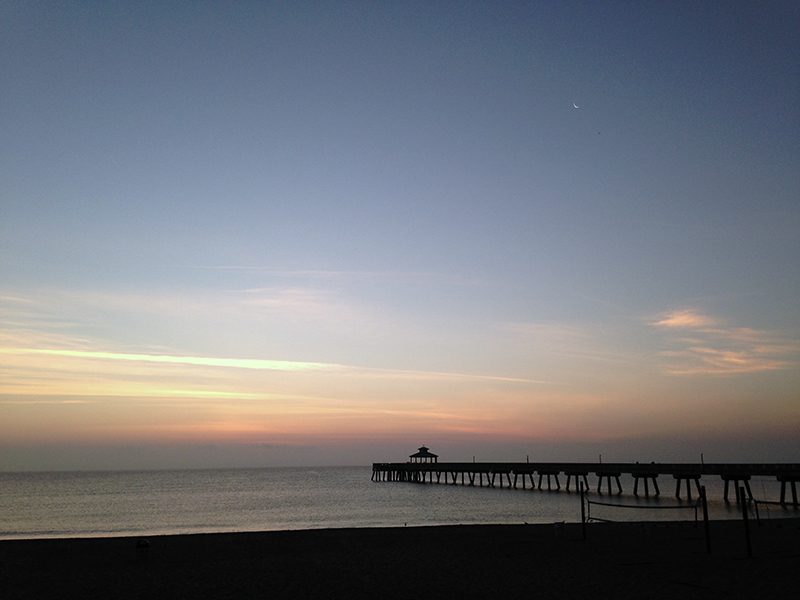 Deerfield Pier Sunrise 2