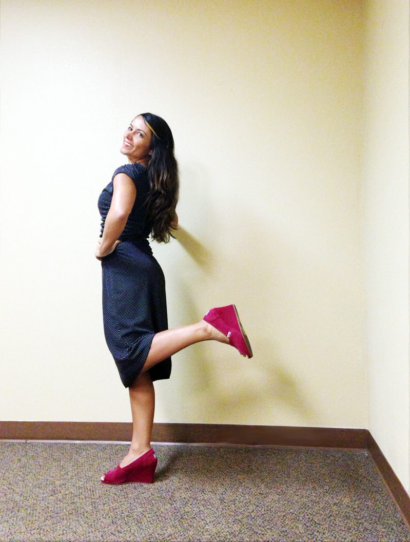 What I Wore 2.18.14 Kicking Heel