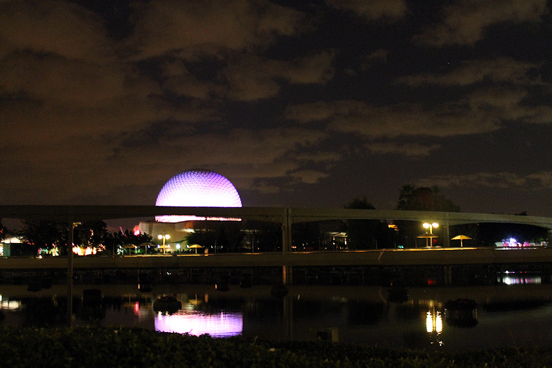 Epcot Purple