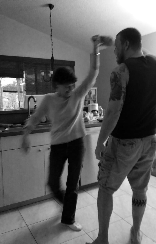 Gran and Steve Dancing 2
