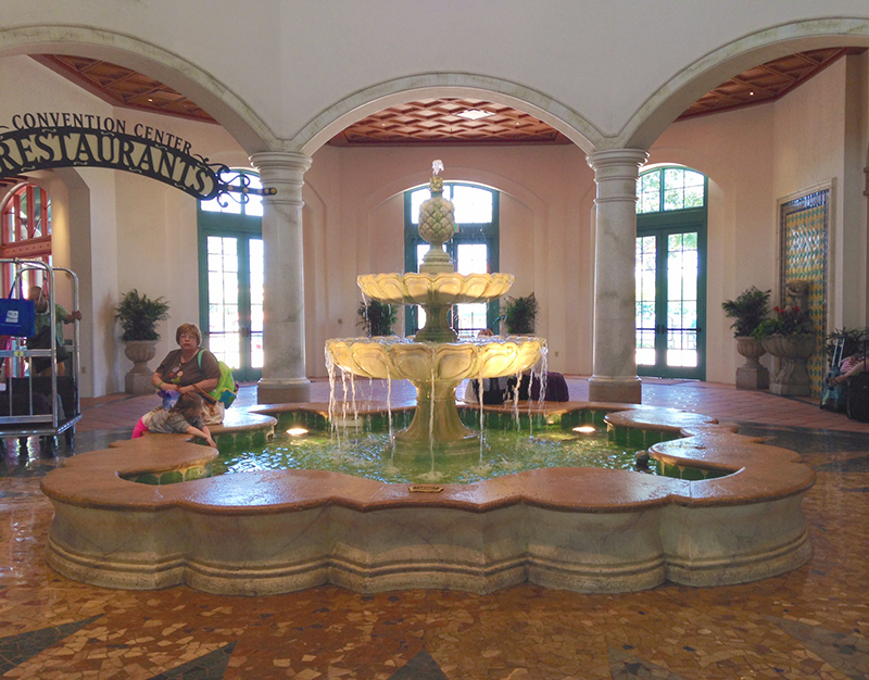 coronado springs fountain