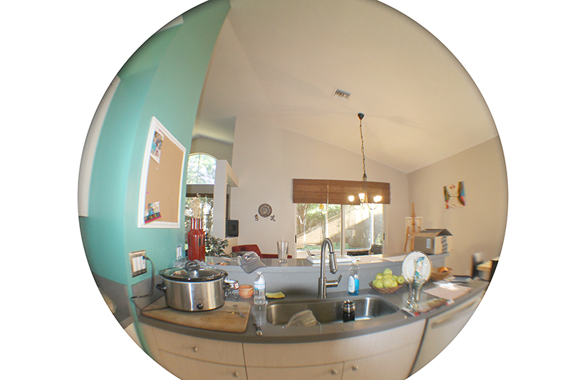 Kitchen Cooking Fisheye