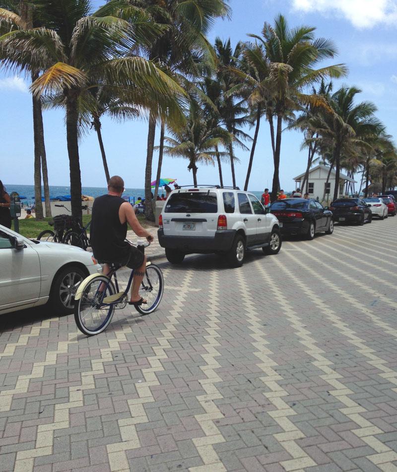 Steve Bike Riding