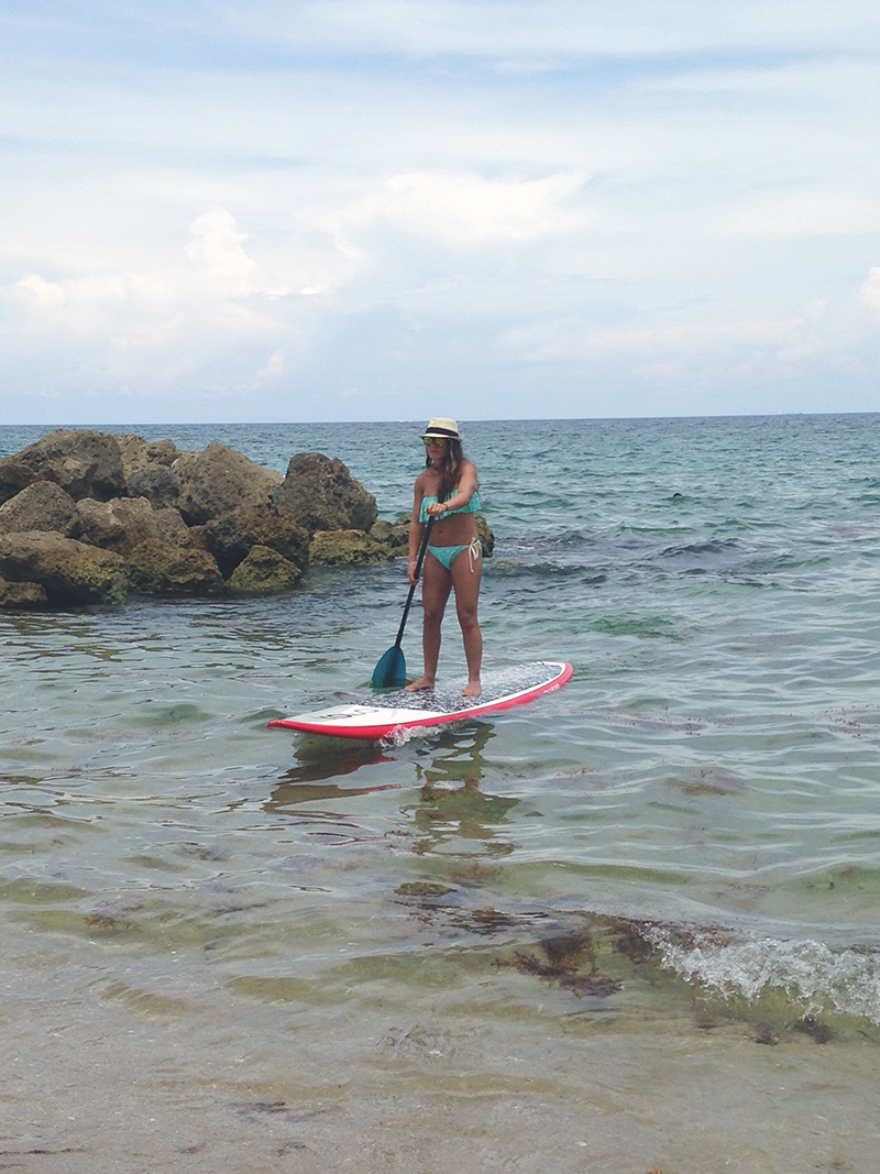 Paddleboarding In