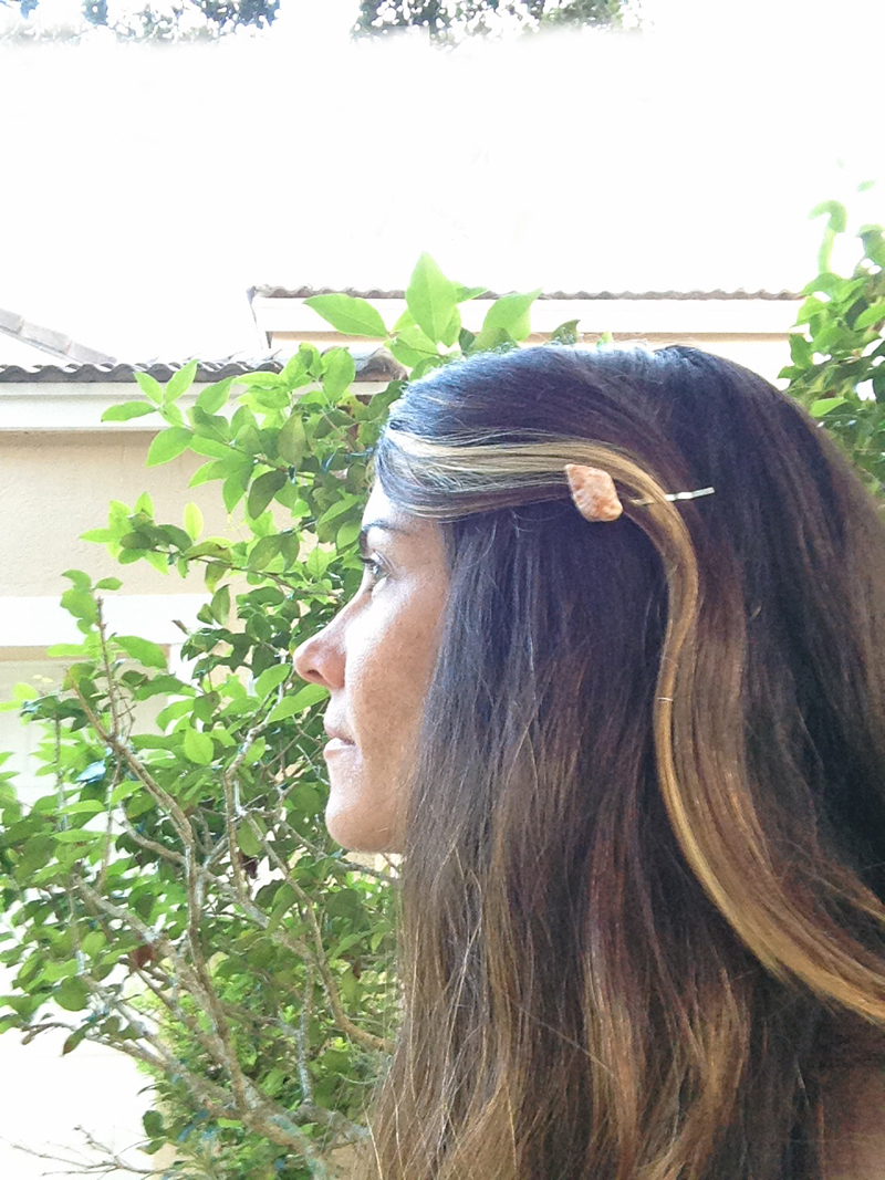 Shell Hairpin Small Nautilus
