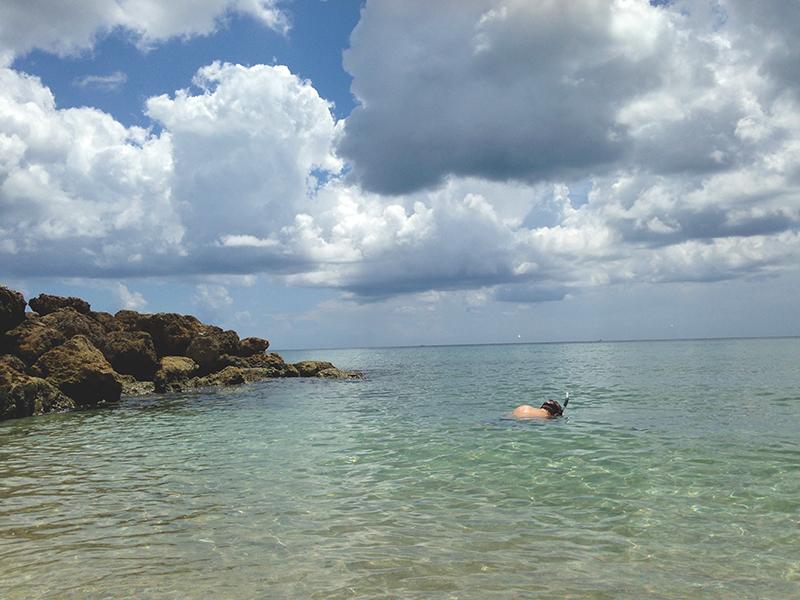 Trey Snorkeling