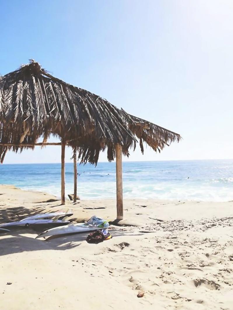 Beach tiki