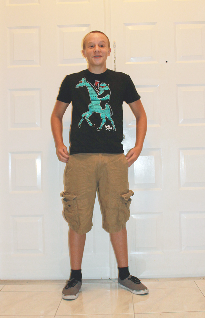 First Day of 8th Grade-2