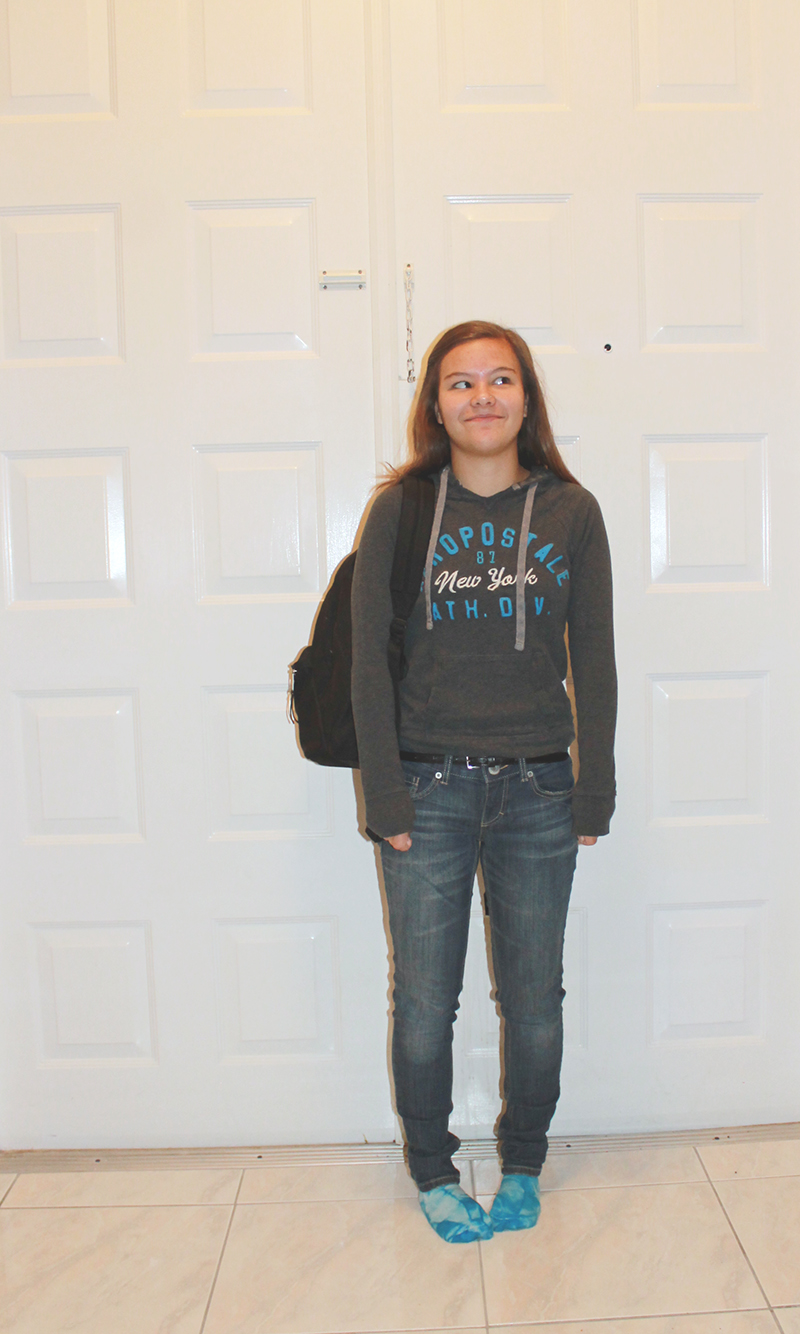 First Day of Senior Year 2014-3