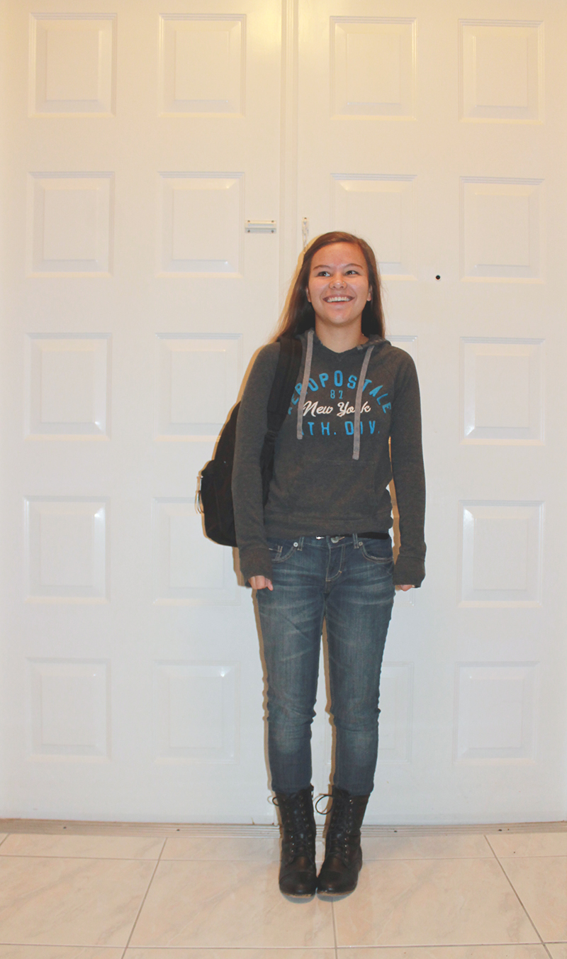 First Day of Senior Year 2014