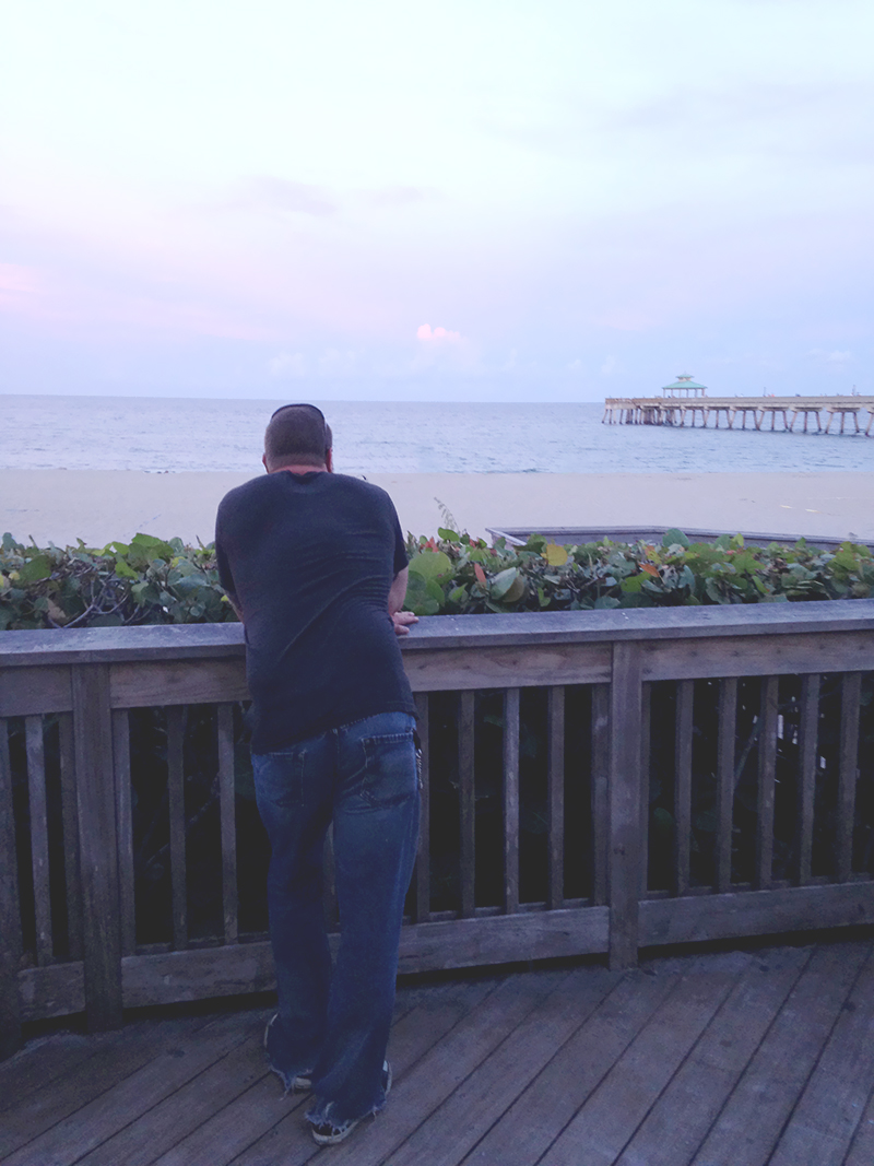 Steve Viewing the Ocean
