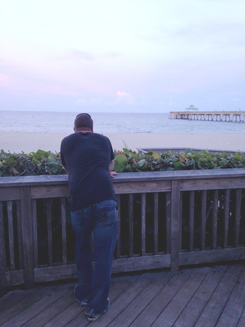 Steve Viewing the Ocean