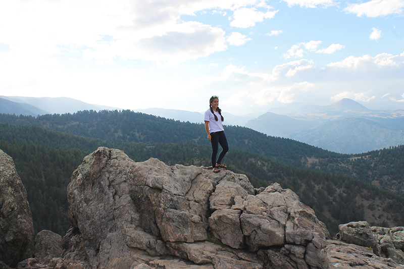 Nell Large Rock Overlook