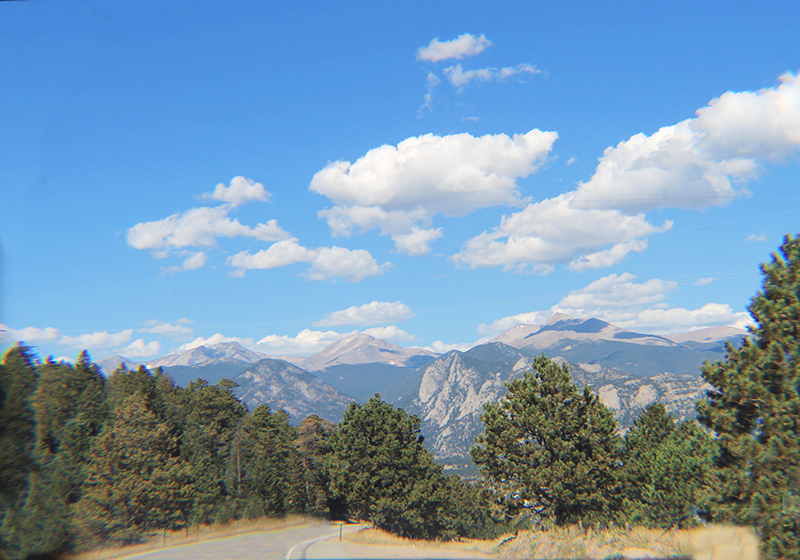 Rocky Mtn Road View