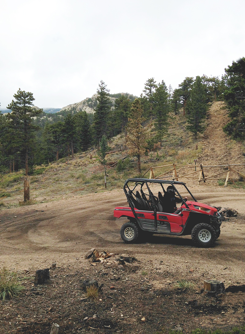 Steve Driving ATV