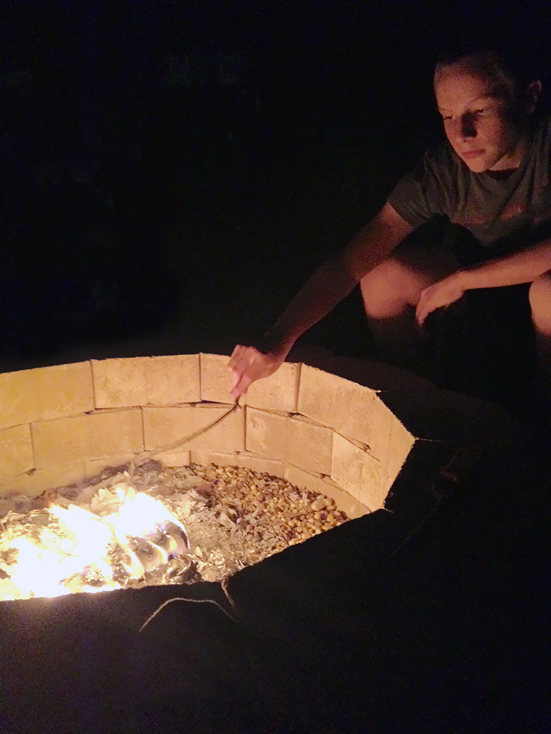 Trey Playing in the Fire