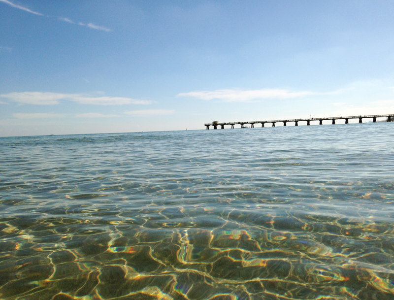 Clear Water Pier View