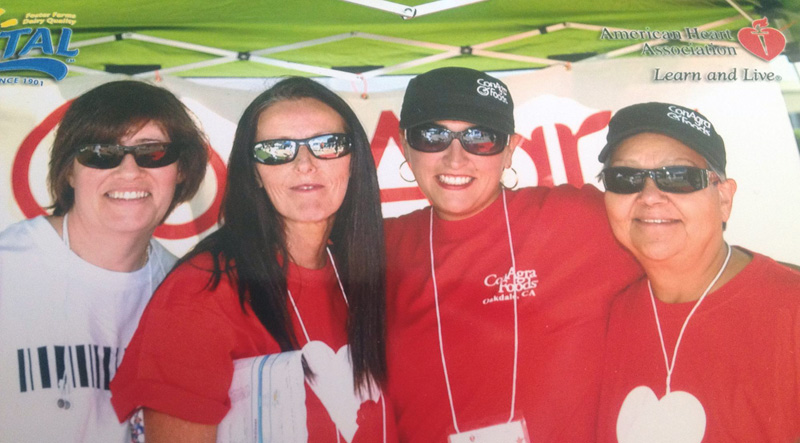 American Heart Association Walk