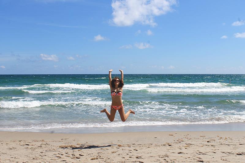 Danica Beach Jump