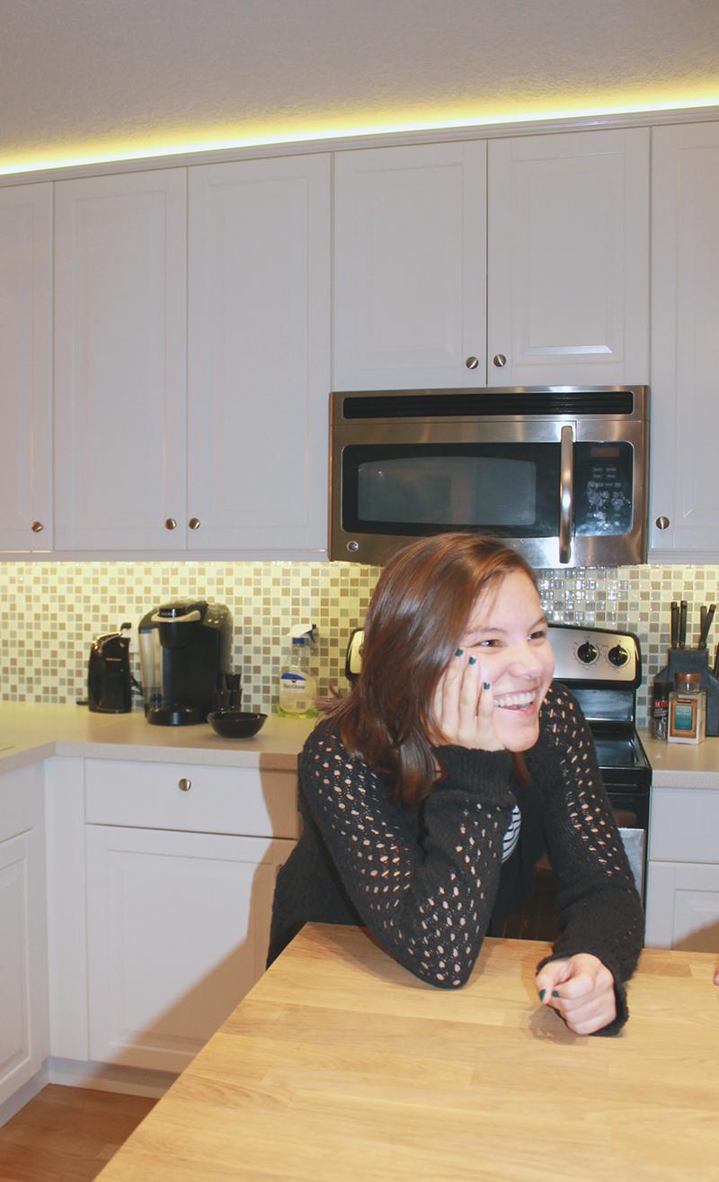 Danica Smiling
