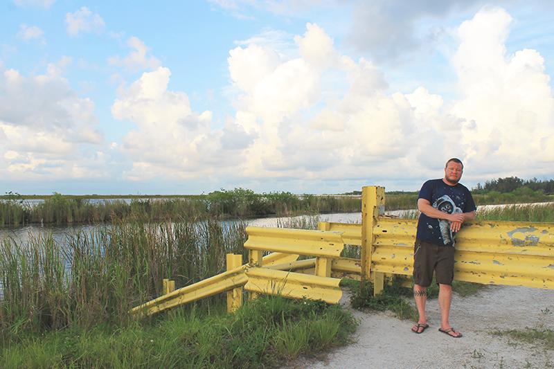 Steve at Everglades