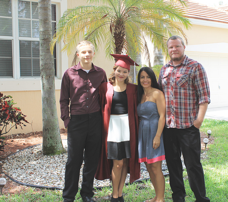 Before Graduation Handley Family